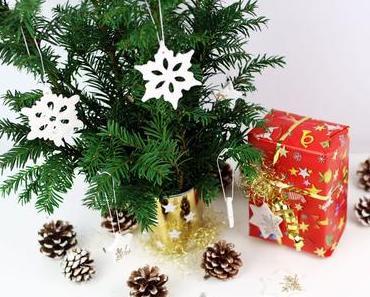 Edle Weihnachtsdeko aus Kaltporzellan