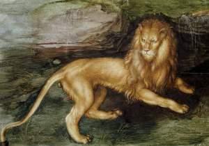 Löwe, Prometheus und der Elefant