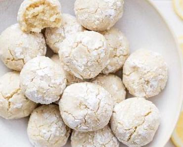 Zitronen-Mandel-Kekse (glutenfrei)