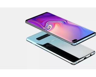 Samsung Galaxy S10+: So sieht das kommende Flaggschiff-Smartphone aus