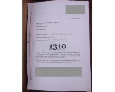 Hannover 96: Die Verweigerung der Durchführung einer ausserordentlichen Mitgliederversammlung oder Vereinsdemokratie ist woanders…
