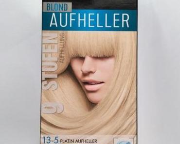 [Werbung] syoss Blond Aufheller 13-5 Platin Aufheller