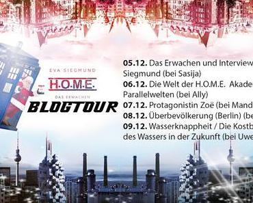 .: Blogtour ~ H.O.M.E. - Das Erwachen + Interview mit Eva Siegmund