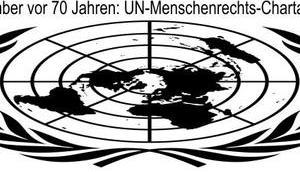 Dezember Jahren: UN-Menschenrechts-Charta abgelehnt