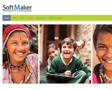 Spendenaktion von SoftMaker – seid dabei und helft !