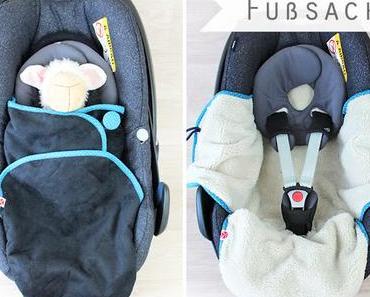 Fußsack für die Babyschale