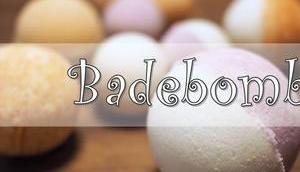 {DIY} Badebomben