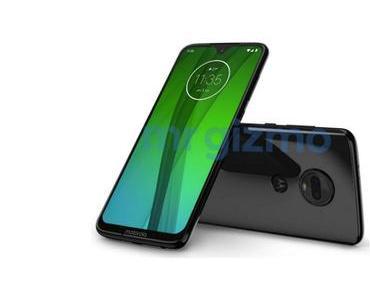 Motorola Moto G7: Pressebilder zu allen vier Modellen geleakt