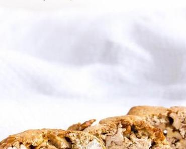 Rezept für Weihnachts-Walnuss-Cantuccini – Recipe for Christmas walnut cantuccini