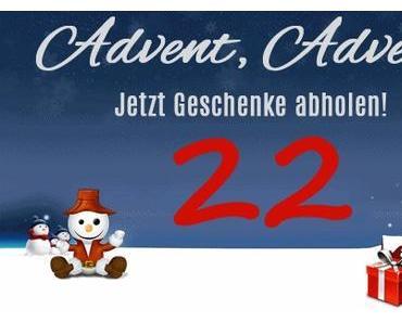 Weihnachtsgiveaway.de mit der 22. Adventskalendertür
