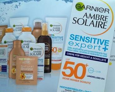 [Werbung] Garnier Ambre Solaire Sensitve Expert + Creme für Gesicht + Dekolleté LSF 50 + und Nagelzubehör Inventur :)