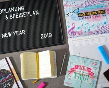 Blogplanung und Speiseplan für 2019 – Mit den Kalendern von DUMONT und teNeues ins neue Jahr [Anzeige/Verlosung]