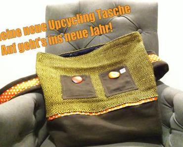 Meine neue Upcycling Tasche – Auf geht's ins neue Jahr!