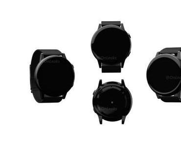 Samsung Galaxy Sport: Neue Smartwatch zeigt sich auf ersten Render-Bilder