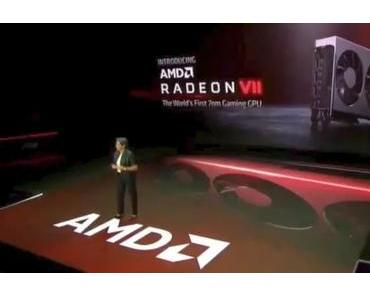 CES 2019: AMD Radeon VII schlägt Nvidia Geforce RTX 2080