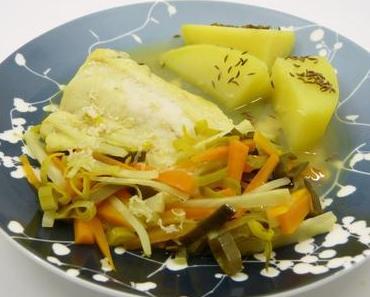 Steirischer Wurzelfisch mit Kümmelkartoffeln