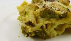 Rosenkohl-Lasagne