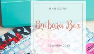 Barbara 06/2018 unboxing