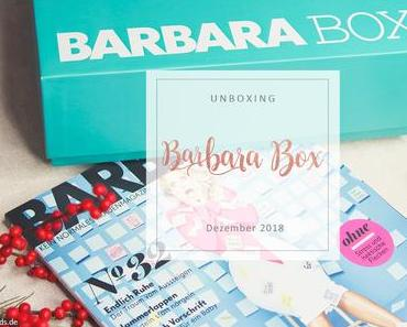Barbara Box - 06/2018 - unboxing