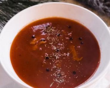 Tomatensuppe für Kochfaule