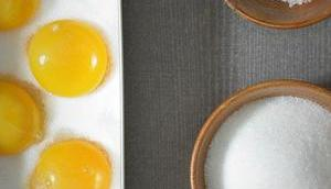Kandierte Eigelbe [Kücheneinmaleins]