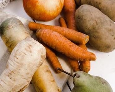 Welches Gemüse und Obst hat im Jänner Saison?