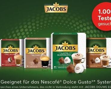Brandnooz sucht Produkttester für die Jacobs Vielfalt für das Nescafé® Dolce Gusto®* System