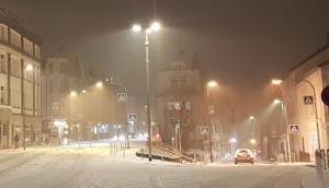 erste Schnee Sauerland