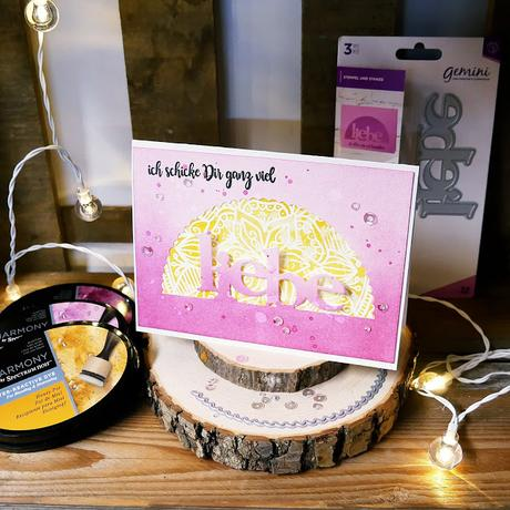 Edge'ables und Clearstamps von Crafter's Companion { Video }