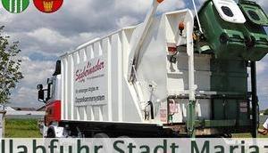 Mitteilung Stadtgemeinde Müllabfuhr Halltal