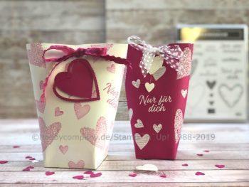Valentinstag 2019 Verpackung basteln