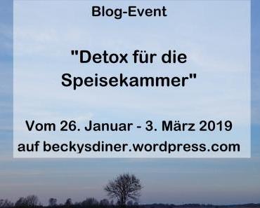 Blog – Event: Detox für die Vorratskammer