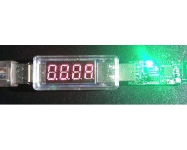 Stromverbrauch des CC2531 Sniffer Protocol Analyzer Wireless Module USB (ZigBee) am Raspberry Pi