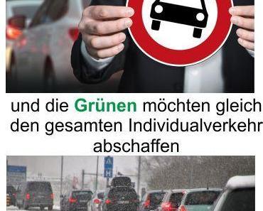 Die SPD will die Diesel Fahrverbote aufrechterhalten und die Grünen wollen gleich den gesamten Individualverkehr abschaffen