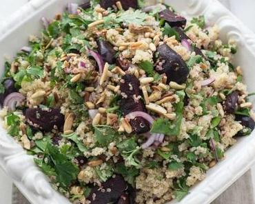 Orientalischer Rote-Bete-Salat mit Quinoa & Joghurt-Dressing