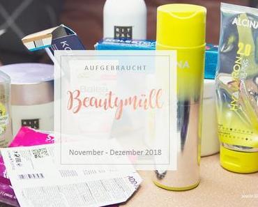 Beautymüll - November Dezember 2018