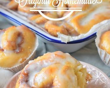 Homemade Cinnamon Rolls - Zimtschnecken und ein give away