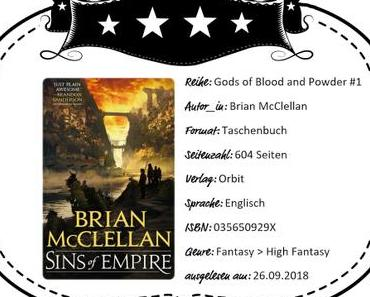 Brian McClellan – Sins of Empire