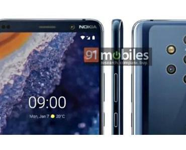 Nokia 9 PureView: Google gibt schon mal vorab ein paar Eckdaten preis