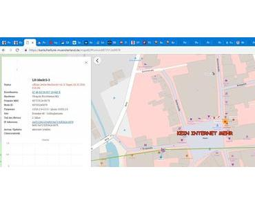 Kein freies Internet mehr am Markt Lüdinghausen