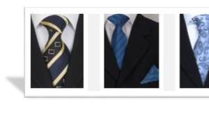 Krawatten stilvolle Accessoires Herrn