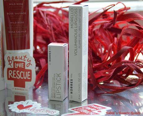 [Review] – Valentins #KORRESBEAUTYLOVE RESCUE KIT: