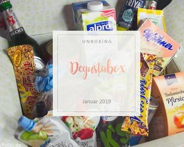 Degustabox - unboxing - Januar 2019