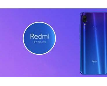 Redmi Note 7: Die Global Version kommt Ende Februar