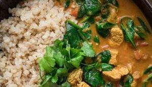 Puten-Curry Garam Masala Kokos