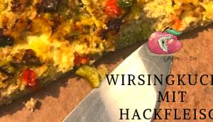 Wirsingkuchen Hackfleisch