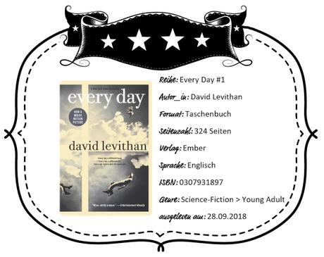 David Levithan – Every Day