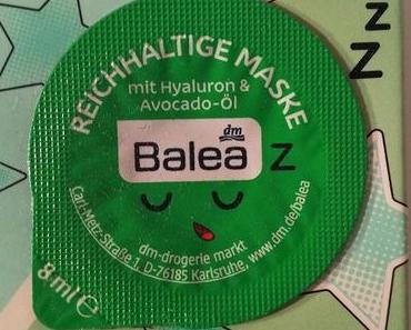 [Werbung] Balea Reichhaltige Maske Mit Hyaluron & Avocado-Öl