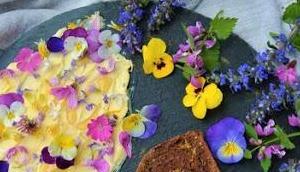 """""""Wilde Küchen Experimente"""" Blumen Teller!"""