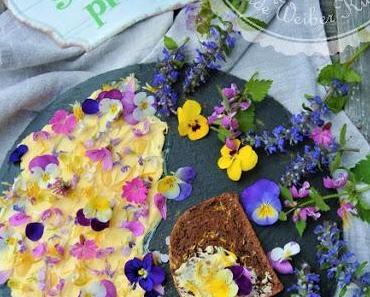 """""""Wilde Küchen Experimente"""" und Blumen am Teller!"""